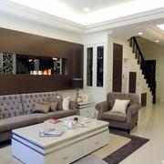 跃层住宅沙发装修