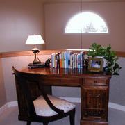 书房书桌装修图片