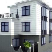 自然风格自建房设计
