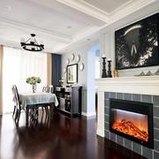 房屋壁炉图片