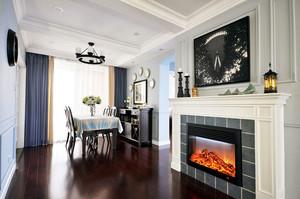 100平米转身邂逅绝美的你 清新简约美式房屋装修设计