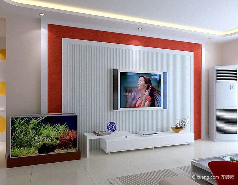 让您舒适看电影:都市豪华空调影视墙效果图大全