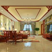 传统中式客厅装修