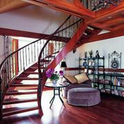 气质型楼梯装修效果图