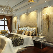 豪华型床头背景墙