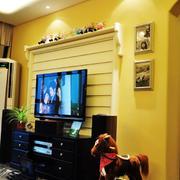 婚房电视背景墙装修