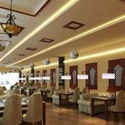 温馨型饭店设计