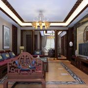 宜家风格中式客厅装修