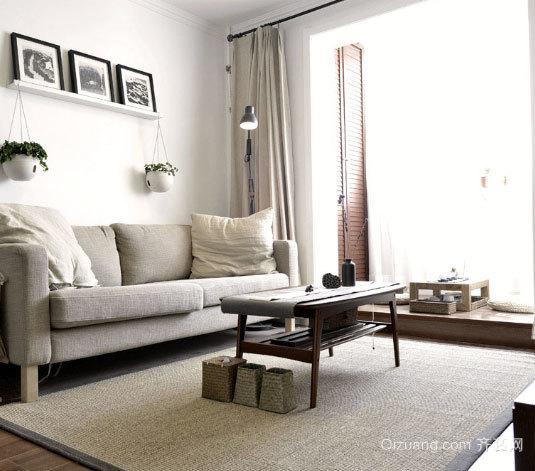 80平米现代公寓装修设计