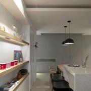 单身公寓吧台装修