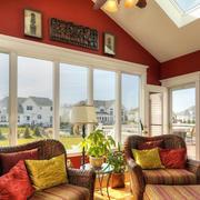 阳光房落地窗设计