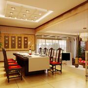 中式风格吊顶装修图片