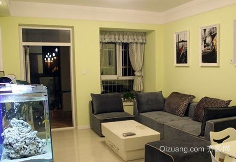 舒适度较高的客卡座沙发装修效果图厅