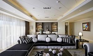 细腻脱俗的维多利亚浪漫跃层室内装修效果图大全