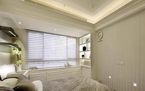 西方碰撞东方:116平米混搭风格三室一厅家居装修效果图