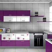 紫色怡情系列橱柜