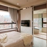 单身公寓卧室设计