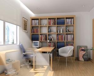 书房书架装修图片