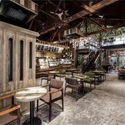 咖啡厅内部结构设计