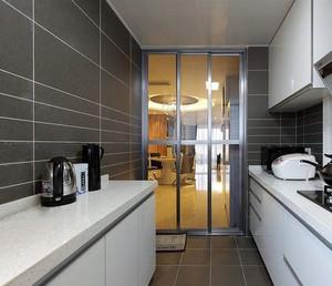 环境似天堂:完美厨房推拉门效果图大全