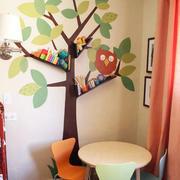书房创意型背景墙装修