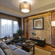 中式客厅吊顶装修