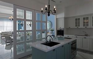 180平米清新浪漫法式风格3层别墅装修设计效果图