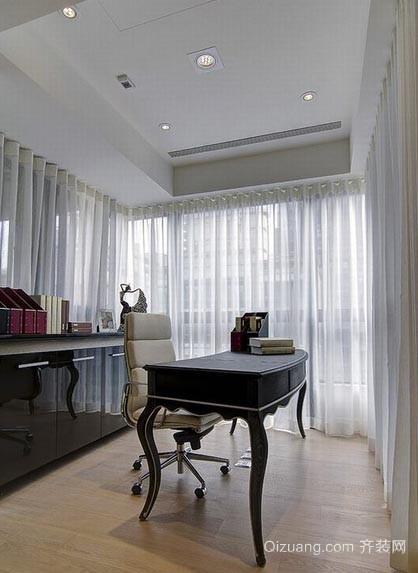 满足您的心:低调新古典大户型三室两厅两卫装修效果图