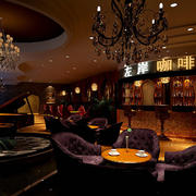 沉稳型咖啡厅设计