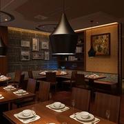 沉稳型饭店设计