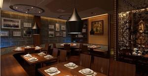 排队来吃饭:人气型饭店装修效果图