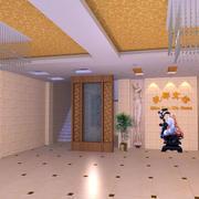 温馨型宾馆大厅设计