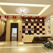宾馆大厅楼梯设计