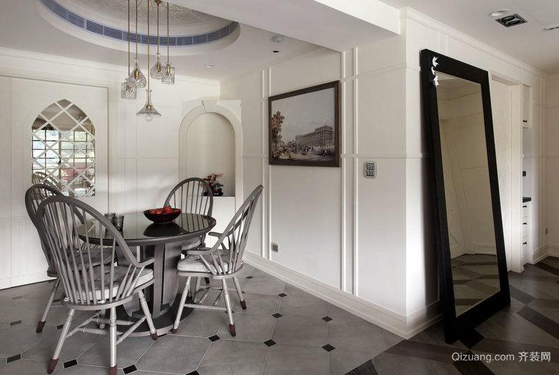 简约新世界:118平米自住型商品房家居装修效果图