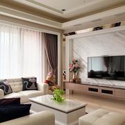 单身公寓背景墙设计