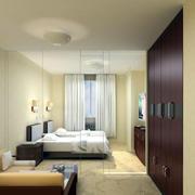 暖色调卧室装修设计