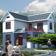 田园风格自建房设计