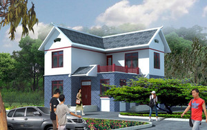 集智慧和勤劳于一体:别致农村自建房设计效果图