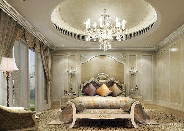 养眼的设计:精益求精的卧室石膏线装修效果图大全