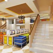 网吧楼梯设计大全
