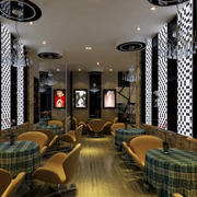 浪漫风格咖啡厅设计