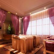 温馨型美容院设计