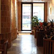 咖啡厅走廊设计案例