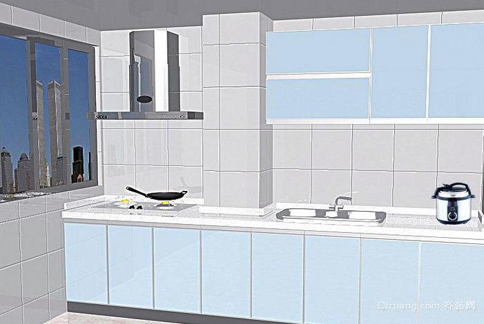 厨房必备的宜家橱柜设计效果图