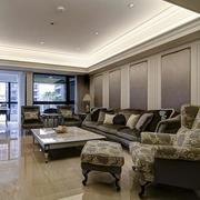 自然风格三室两厅两卫