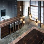 深色调公寓设计