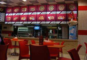 中式快餐店装修效果图