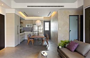 120平米写意时光心灵的驿站家庭小公寓装修效果图
