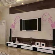 电视背景墙墙贴设计