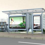 清新型公交站